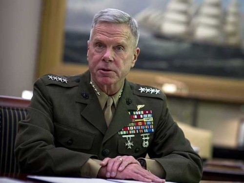 The Marine Corps' Top General Slams The Obama Administration Over Iraq