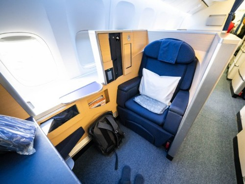 I got a $20,000 first-class flight from New York to Japan for just $257 by using credit card points. Here's exactly how I did it