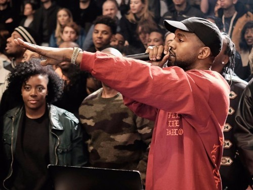 Kanye West just released a new song with help from hip-hop all-stars