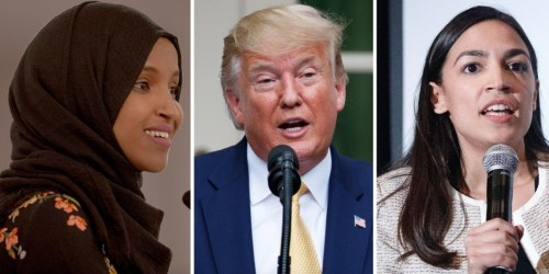 Trump doubles down on attack on Democratic congresswomen of color