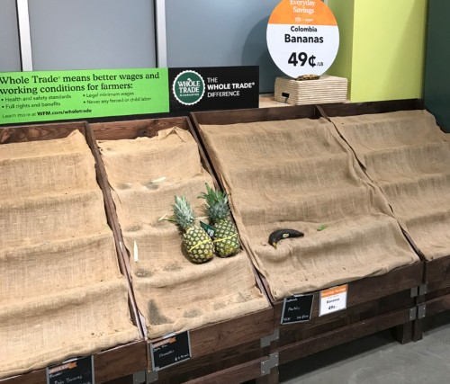 'Entire aisles are empty': Whole Foods employees reveal why stores are facing a crisis of food shortages
