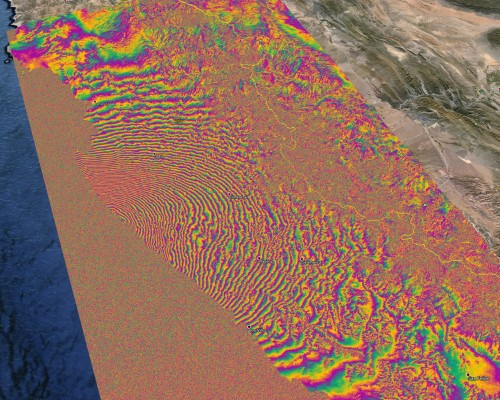 New space-based satellites show how much the Earth moved during the Chile earthquake