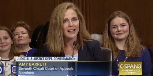 Trump is reportedly 'saving' a seat on the Supreme Court for conservative Amy Barrett in place of Ruth Bader Ginsburg