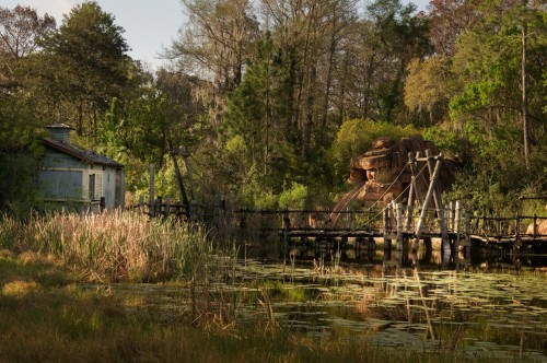 A photographer captured these creepy photos of an abandoned Disney water park in Florida