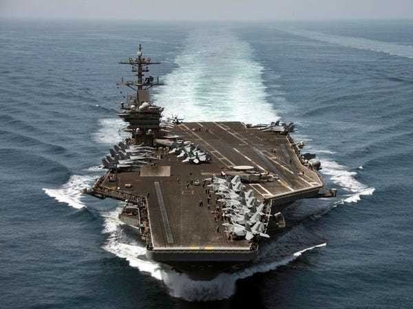 A US aircraft carrier responsible for 1,182 combat sorties against ISIS has left the Per... - Business Insider