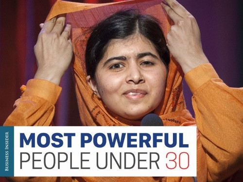 The most powerful people under 30