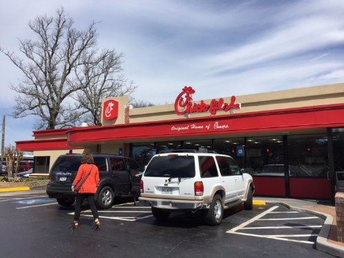 This Chick-fil-A menu is unlike anything we've seen from the fast-food chain
