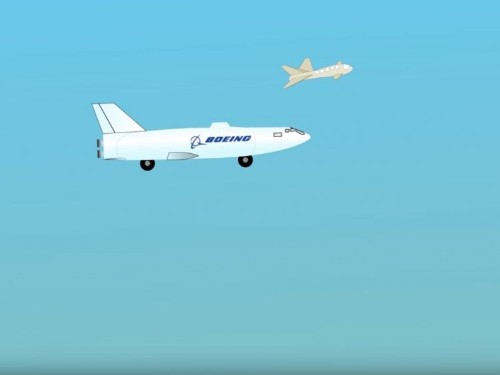 Boeing has patented a flying drone that turns into a submarine