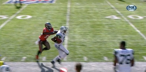 Here's The Idiotic Late Hit With 7 Seconds Left That Gave The Jets A Shock Upset Over The Bucs