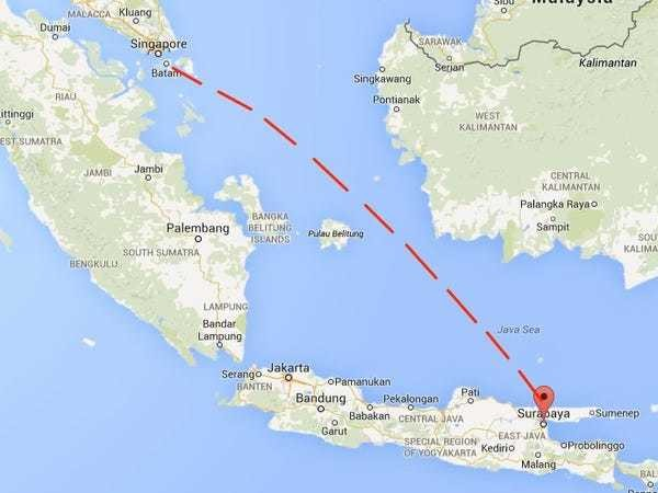 AirAsia Flight To Singapore Disappears With 162 On Board - Business Insider