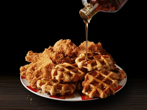 KFC's chicken and waffles return to menus across America