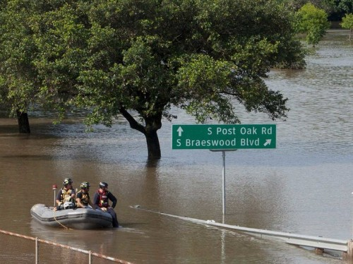 Most of central Texas is under water after deadly flooding