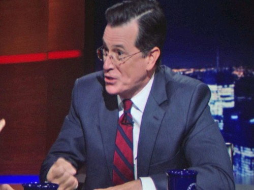 Stephen Colbert made a shockingly vicious appearance on 'House Of Cards'