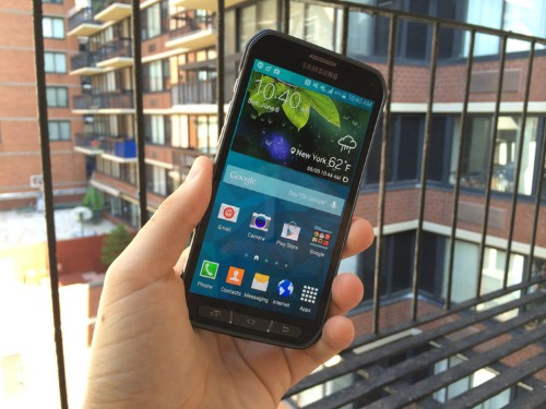 REVIEW: Samsung's Latest Galaxy Phone Is Built Like A Tank