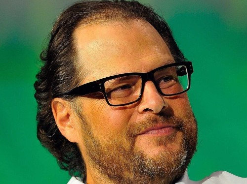 Salesforce CEO Marc Benioff and 500 of his employees use this simple technique to reduce stress