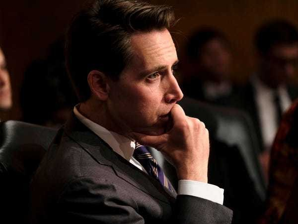 Sen. Josh Hawley bill: Big tech could be liable for harmful content - Business Insider