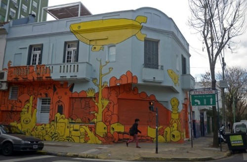 Buenos Aires is fighting vandalism with street art