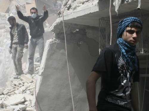 Aleppo's Population Has Grown Despite Being Directly In Syria's Crossfire