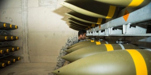 The US military's largest base outside the US just got its biggest ammo delivery in 20 years