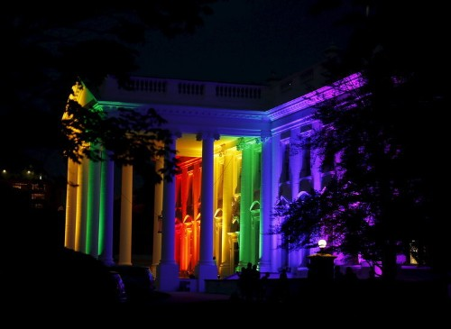 Here's how the White House celebrated the legalization of same-sex marriage