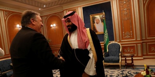 Pompeo says Saudi royals didn't want to discuss facts of the Khashoggi case and he doesn't either