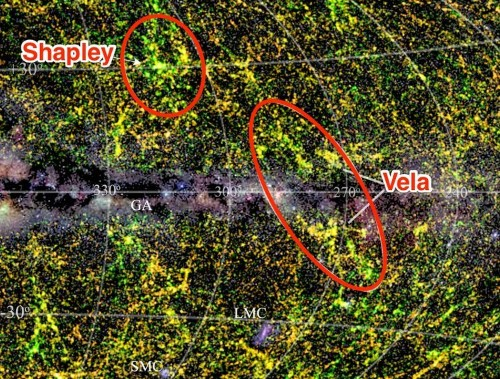 Astronomers just discovered one of the most massive objects in the universe hiding behind the Milky Way
