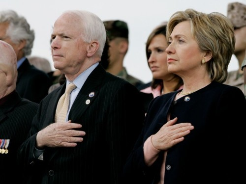 Former presidents, congressional leaders, and the military commend John McCain's storied life and service