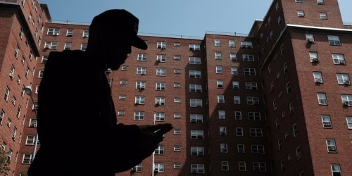 Poor people are running out of places to live