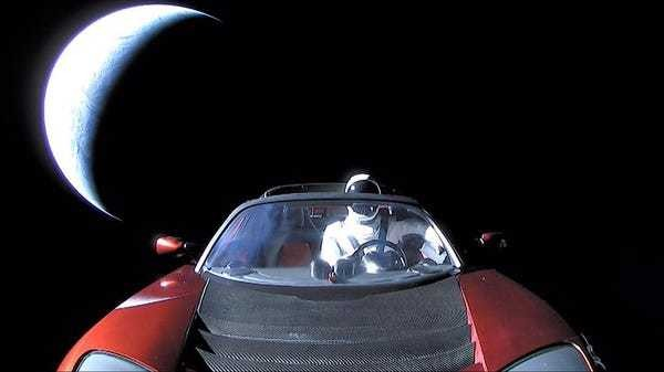 Elon Musk's space Tesla will hit Earth, Venus, or the sun but not Mars - Business Insider