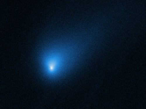 Photo, video: NASA's Hubble space telescope spots interstellar comet - Business Insider