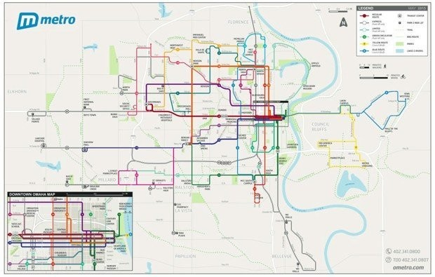 Omaha just dramatically improved its public transportation without spending any money
