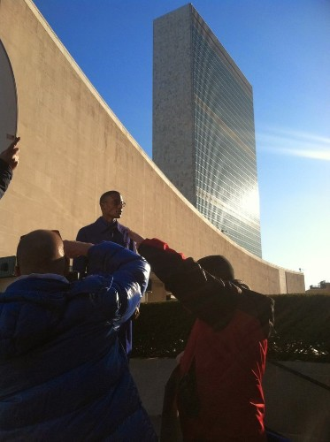 How Bloomberg Pursuits Wound Up Shooting A Fashion Spread Inside The United Nations