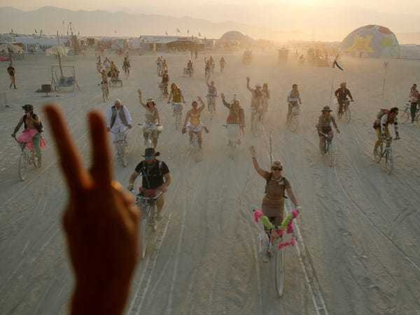 Everything you've been wanting to know about Burning Man, the wild 9-day arts event in the Nevada desert frequented by celebs and tech moguls