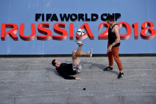 Russia is gearing up for the 2018 World Cup launch