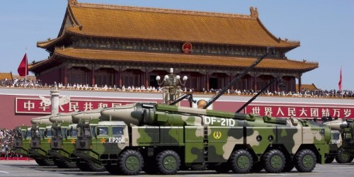 China's missiles could cripple US forces in Asia if a war breaks out, according to a new report