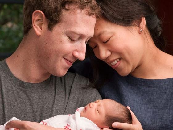 Mark Zuckerberg is officially a dad!