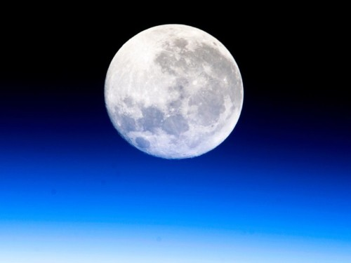 Earth's air supply may reach nearly 400,000 miles into space — so far that the moon constantly flies through it