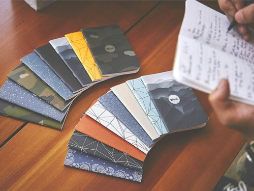 These $11 pocket notebooks use a simple but highly effective organizational system to help you manage tasks and goals