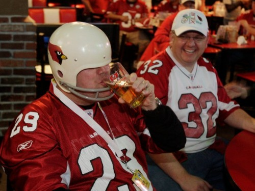 The most popular beer and liquor for the fans of every NFL team