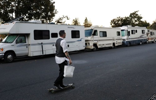 Silicon Valley residents who live in RVs will soon be forced to leave