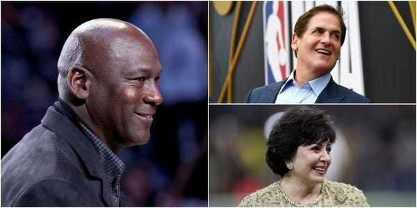 The 15 richest billionaire NBA club owners, and how they made their fortune - Business Insider