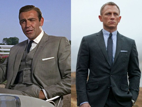 The stylish actors of the James Bond films, ranked
