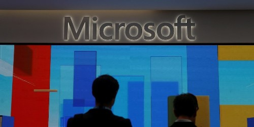 Microsoft shares hit record high after beating Amazon to a controversial contract with the Pentagon worth $10 billion