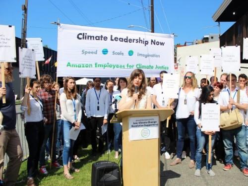 Amazon employee explains the climate-change protest