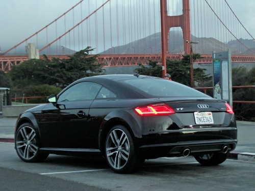 The 2016 Audi TT that I ordered with my iPhone