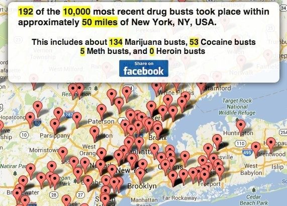A Colorful Breakdown Of US Drug Seizures By State