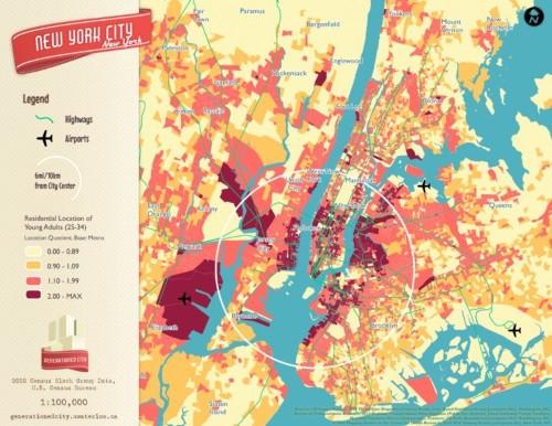 Here are millennials' favorite neighborhoods in 6 big US cities