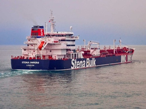 Radio recording reveals Iran-UK exchange before British tanker seized