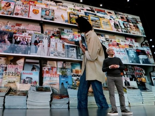 Here are all the major publishers in Apple's new subscription service, Apple News+