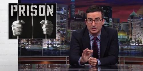 John Oliver Brilliantly Tears Apart America's Broken Prison System - Business Insider